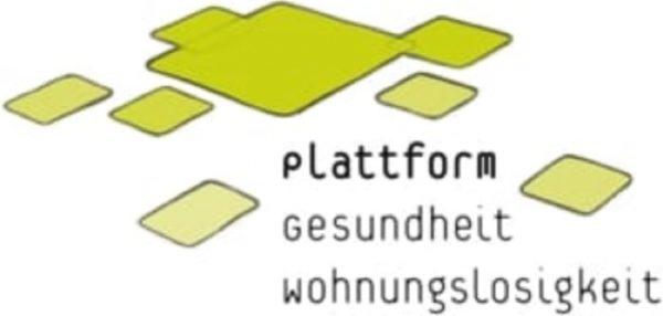 Logo plattform gesundheit wohnungslosigkeit